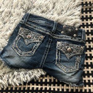 Miss me girls jean shorts 10